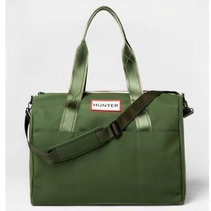 🆕 HUNTER x target large duffel bag- olive green